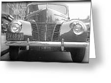 Chrome Grill Greeting Card
