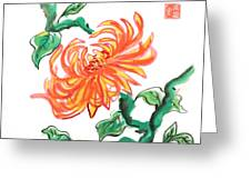 Chrysanthemum 2 Greeting Card