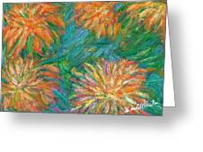 Chrysanthemum Shift Greeting Card