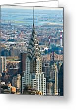 Chrysler Building - Nyc Greeting Card