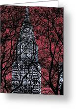 Chrysler Building 8 Greeting Card