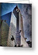 Chrysler Building From Below Greeting Card