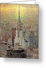Chrysler Building New York City 20130425 Greeting Card