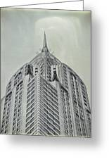 Chrysler Building Vintage Look Greeting Card
