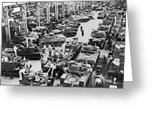 Chrysler Tank Plant Greeting Card