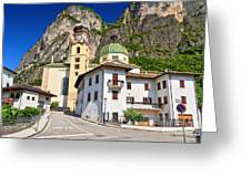 Chuch In Mezzacorona Greeting Card