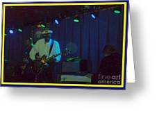 Chuck Berry And Charles Berry Jr. 2 Greeting Card