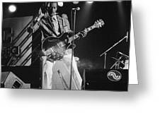 Chuck Berry At The North Sea Jazz Festival 1987 Greeting Card