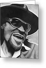 Chuck Brown  Greeting Card