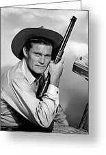 Chuck Connors - The Rifleman Greeting Card