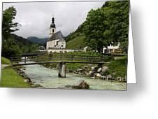 Church - Pfarrkirche St. Sebastian Greeting Card