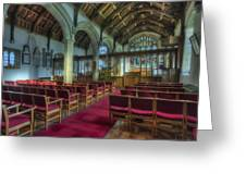 Church At Christmas V6 Greeting Card