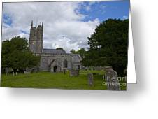 Church Avebury Uk 2 Greeting Card