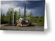 Church Beaver Creek Yukon Greeting Card
