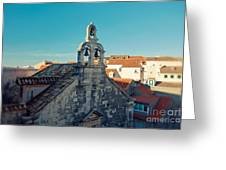 Church Bells Greeting Card