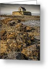 Church By The Rocks Greeting Card