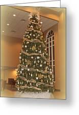 Church Christmas Tree Greeting Card
