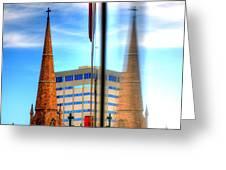 Church Downtown Denver 5074 Greeting Card