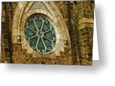 Church Glass Greeting Card