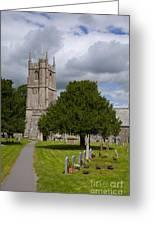 Church In Avebury Uk Greeting Card