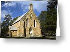 Church In Berrima A Town In Regional New South Wales Australia Greeting Card