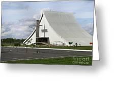 Church In Brazilia Greeting Card