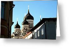 Church In Estonia Greeting Card