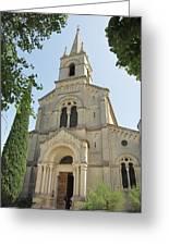 Church In Gordes Greeting Card