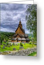 Church In Norway Greeting Card