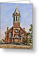 Church In Sprague Washington 2 Greeting Card