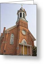 Church In Sprague Washington 3 Greeting Card