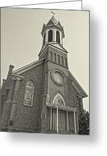 Church In Sprague Washington 4 Greeting Card