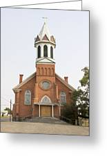 Church In Sprague Washington Greeting Card