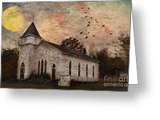 Church In The Catskills Greeting Card