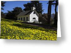 Church In The Clover Greeting Card