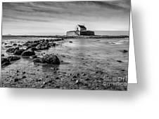 Church In The Sea Greeting Card