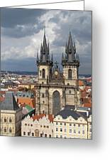 Church Of Our Lady Before Tyn - Prague Greeting Card