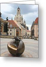 Church Of Our Lady - Dresden - Germany Greeting Card
