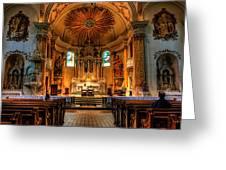Church Of Saint Agnes Greeting Card