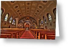 Church Of Saint Bernard Greeting Card