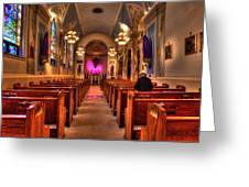 Church Of Saint Louis Greeting Card