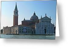 Church Of San Giorgio Maggiore Greeting Card