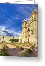 Church Of Santo Domingo De Guzman In Oaxaca Greeting Card