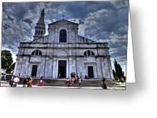Church Of St. Euphemia Greeting Card