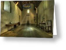 Church Of St Seiriol Greeting Card