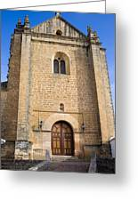 Church Of The Holy Spirit In Spain Greeting Card