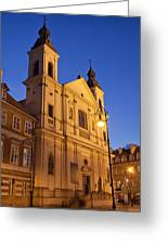 Church Of The Holy Spirit In Warsaw Greeting Card
