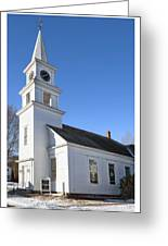 Church On The Cape Greeting Card
