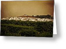 Church On The Hill - Andalusia Greeting Card