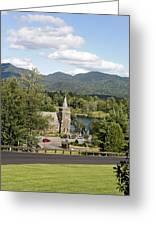 Church On The Lake Greeting Card